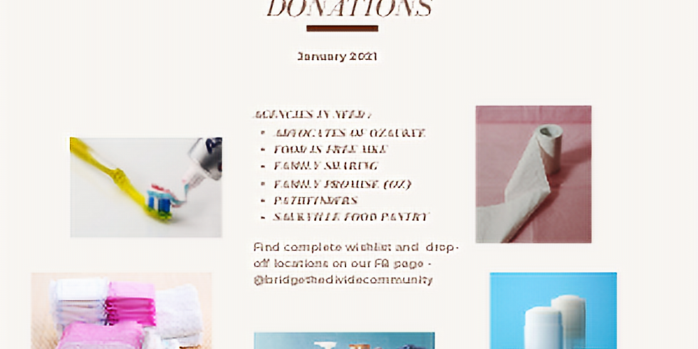 Personal Products Donation Drive