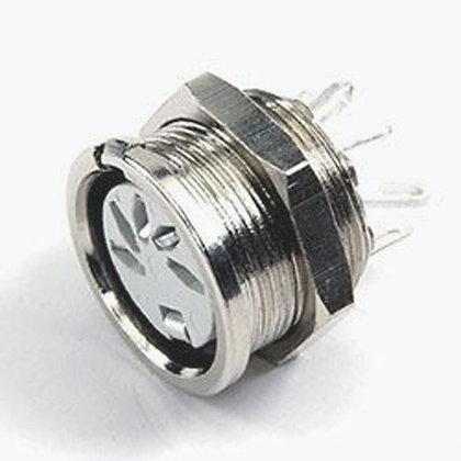 Deltron 8 Pole Din Socket Socket