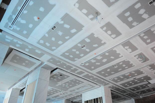 Installation of ceiling gypsum board she