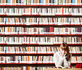 図書館で読書ガール