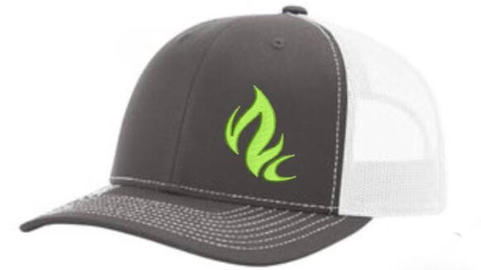 Green Flamer Cap
