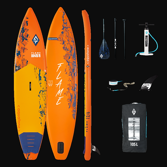 SUP Aquatone Touring Flame 12.6