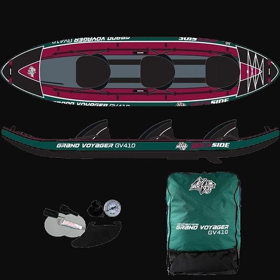 Kayak Gonflable 3P Rockside Grand Voyager