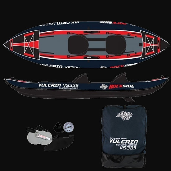 Kayak Gonflable 2P Rockside Vulcain Supercharged