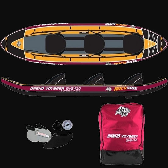 Kayak Gonflable 3P Rockside Grand Voyager Supercharged