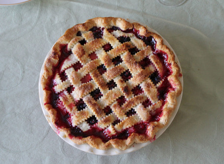 Hungarian Sour Cherry Pie