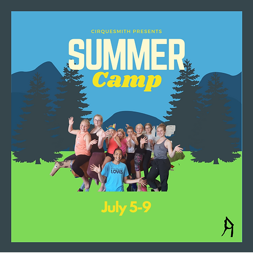 Summer Camp (July 5-9) HALF DAY