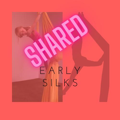Saturday EARLY Silks (8:45am)-SHARED