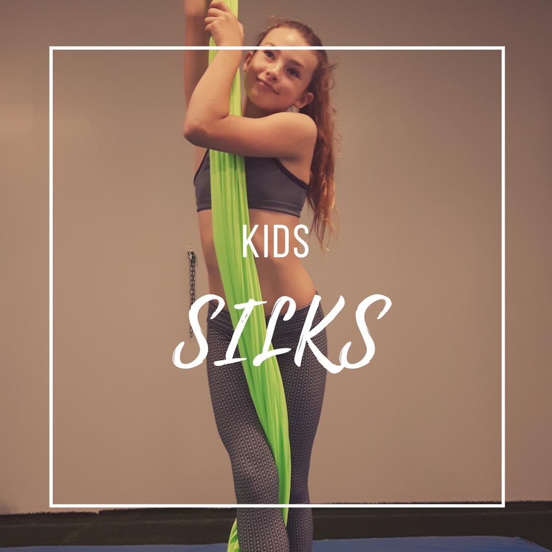 Tuesday Kids Silks 2 (5:15pm)CLASS FULL