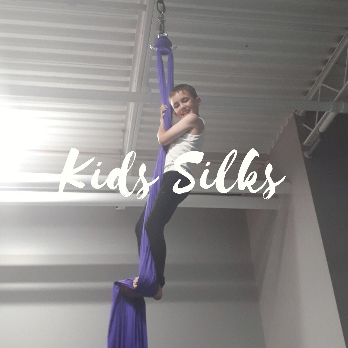 Tuesday Kids Silks (4pm) - CLASS FULL