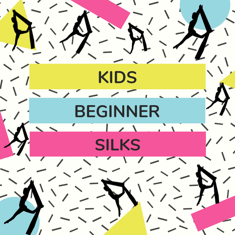 Monday Kids Silks (4:00pm) CLASS FULL