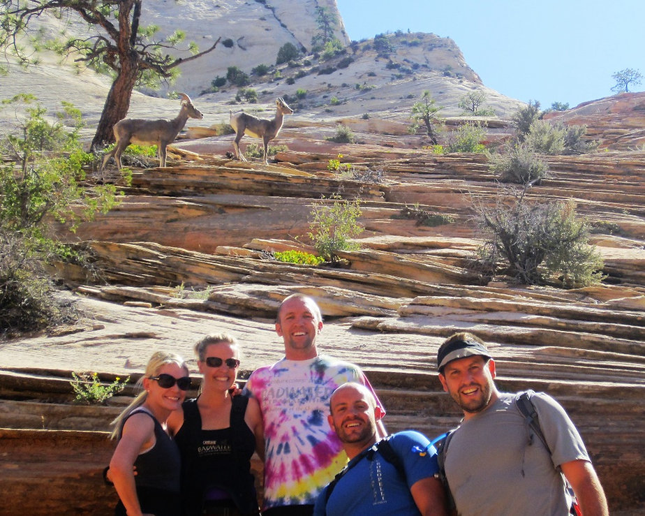 Zions National Park Happy Trails Adventure