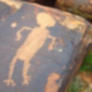 Southern Utah petroglyphs Happy Trails Adventure