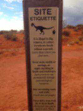 Southern Utah Dinosaur Tracks Happy Trails Adventure