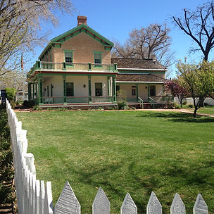Southern Utah Brigham Young Winter Home Happy Trails Adventure
