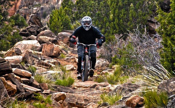 nate downhill bike grafton