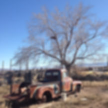 Happy Trails Adventure old truck ghost town