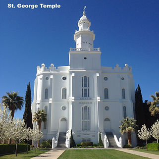 St George Utah LDS Temple Happy Trails Adventure
