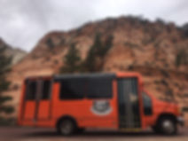 Orange bus in Zion.JPG