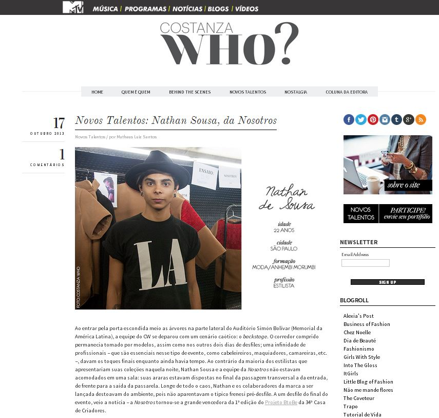 Entrevista Costanza Who