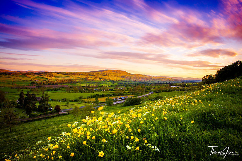 Chasing Sunsets   Wensleydale