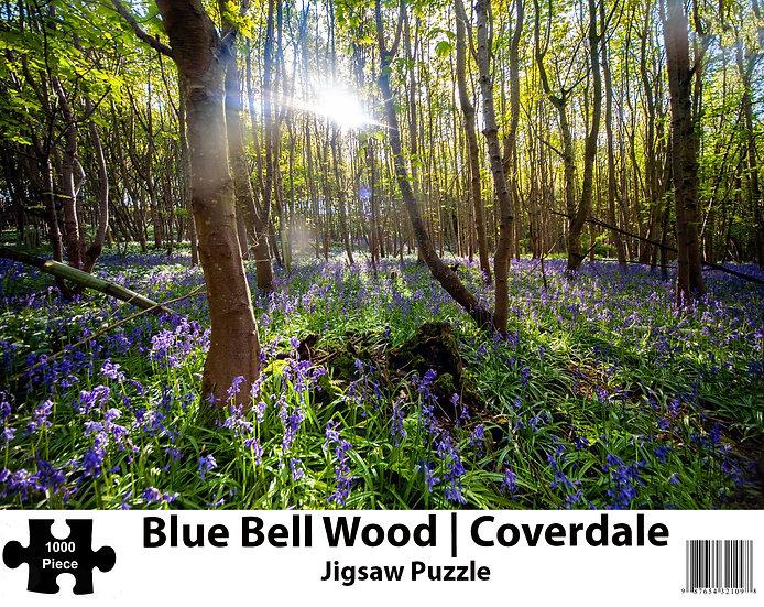 Bluebell Wood   Coverdale 1000 Piece Jigsaw