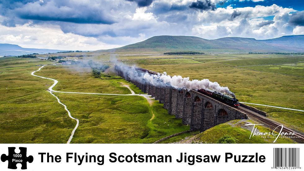 The Flying Scotsman 1000 Piece Jigsaw