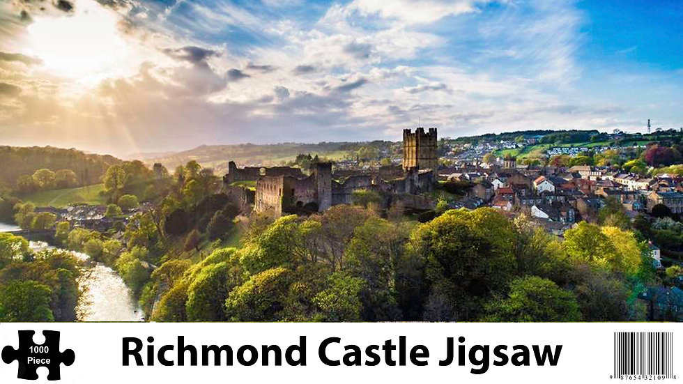 Richmond Castle 1000 Piece Jigsaw