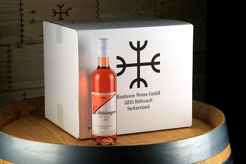 Rosé, AOC Aargau 2018, 20er Karton (0.5L), CHF 9.20 pro Flasche