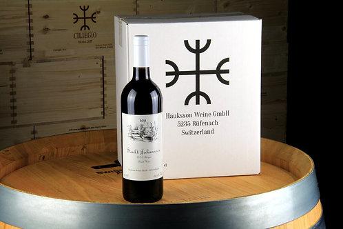 Pinot Noir St Johannser, AOC Aargau 2018, 6er Karton, CHF 18.50 pro Flasche