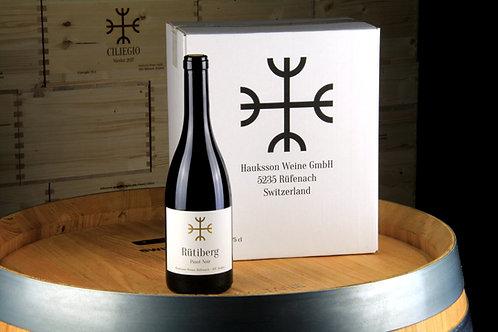 Pinot Noir Rütiberg, AOC Aargau 2017, 6er Karton, CHF 25 pro Flasche
