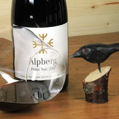 Pinot Noir Alpberg, AOC Aargau 2017, 6er Karton, CHF 32 pro Flasche