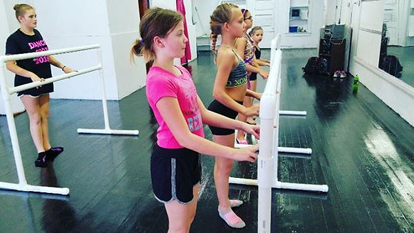 Working with our new Ballet bars! Emeral