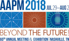 Abstract to be featured in Science Highlights at AAPM 2018 in Nashville