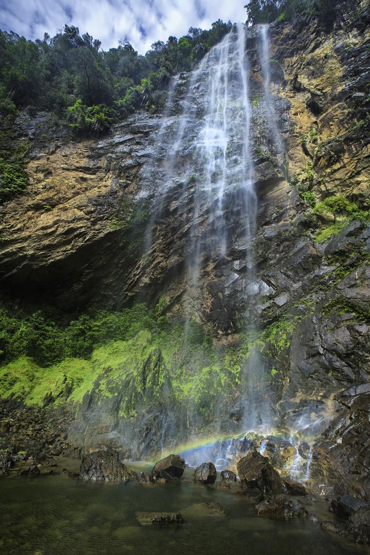 Rainbow Waterfall in Sungai Lembing