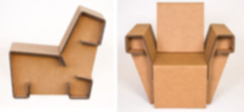 Collection-of-cardboard-furniture-chairs