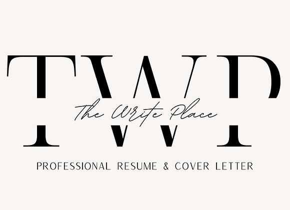 Professional Resume & Cover Letter