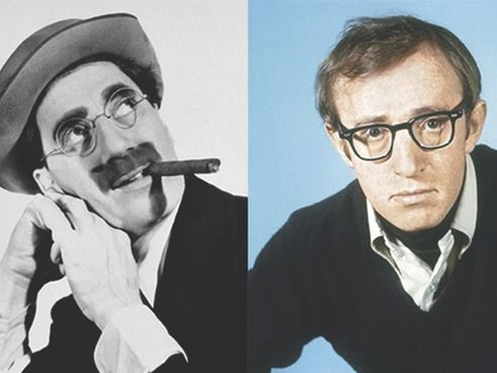 Groucho Marx, una carta a Woody Allen y diez grandes frases