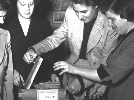 Eva Perón, el discurso del día en que se promulgó el sufragio femenino