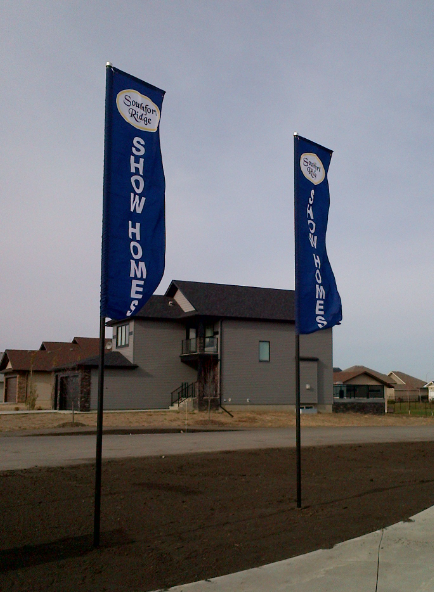 SHOW HOME BANNER FLAGS