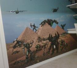 BEDROOM WALL MURALS