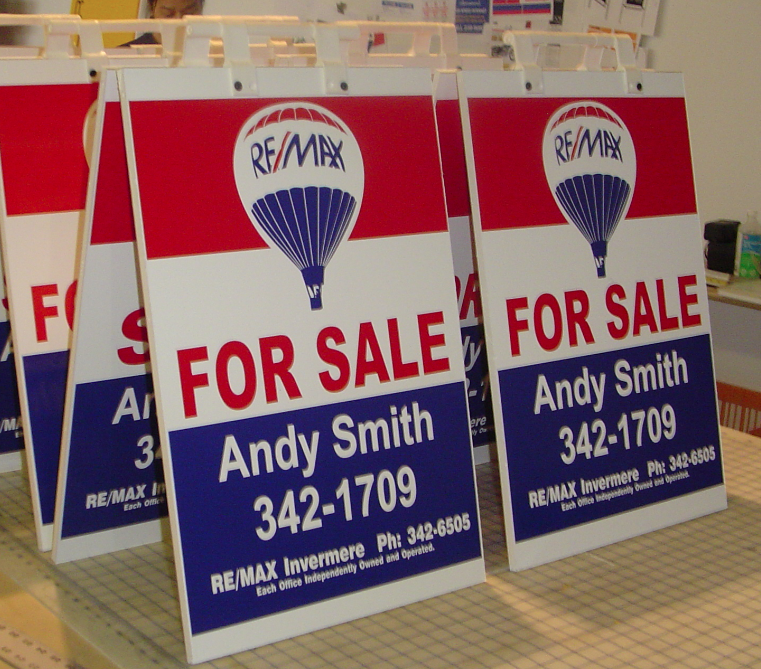 REAL ESTATE SANDWICH BOARDS