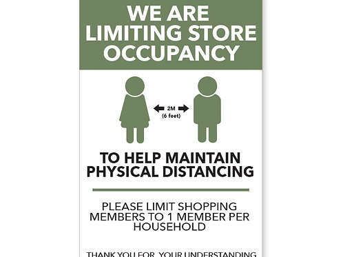 Limiting Store Occupancy
