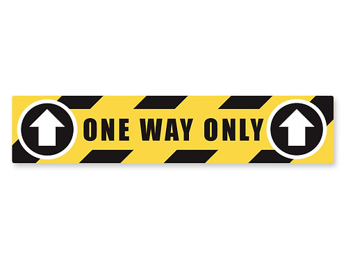One Way Strip Decal
