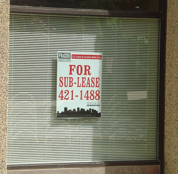 REAL ESTATE WINDOW SIGNS