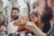 食べるバーガー