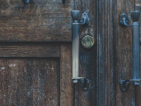 Creaking Wooden Door