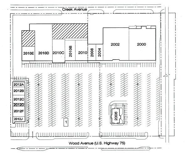 2000 Cente Site Plan