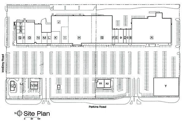 Pioneer Square Site Plan