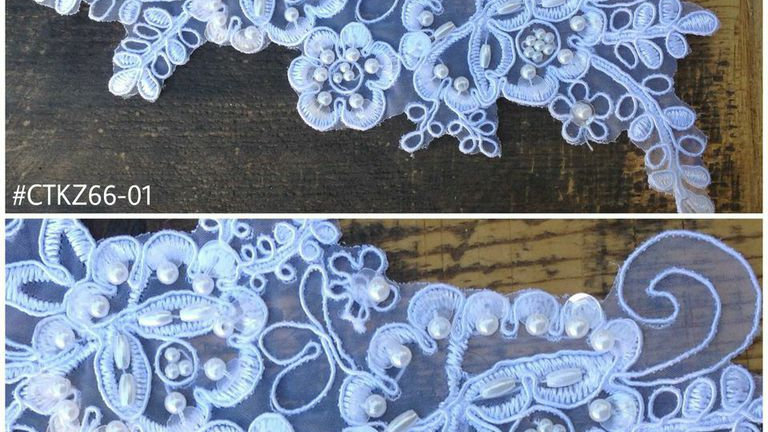 Couture Beaded Applique